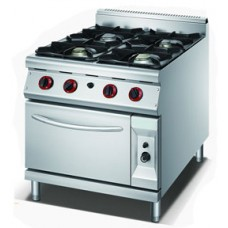GAS STOVE FOUR BURNER WITH OVEN